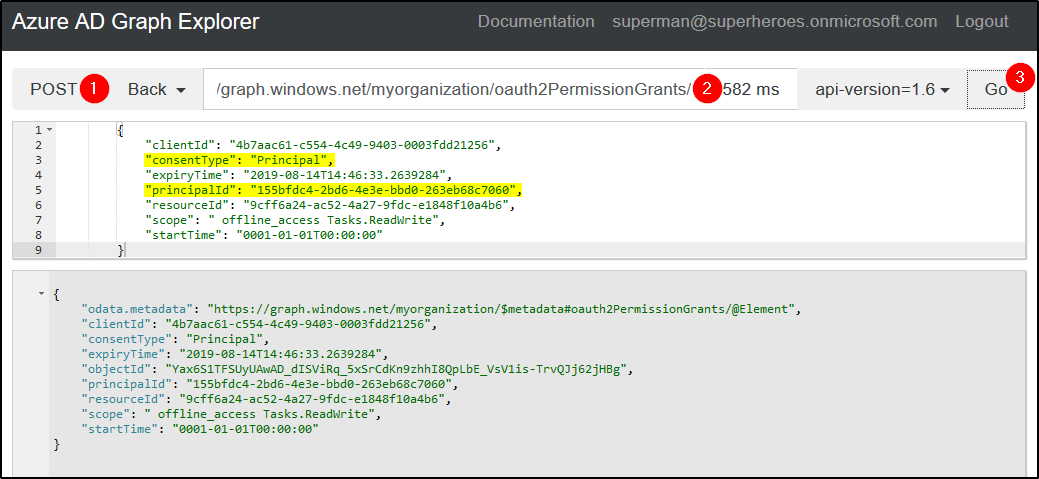 How to grant permissions to one or more users to use the